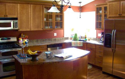 Newly Constructed Kitchen
