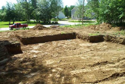Excavating by Giancola Construction