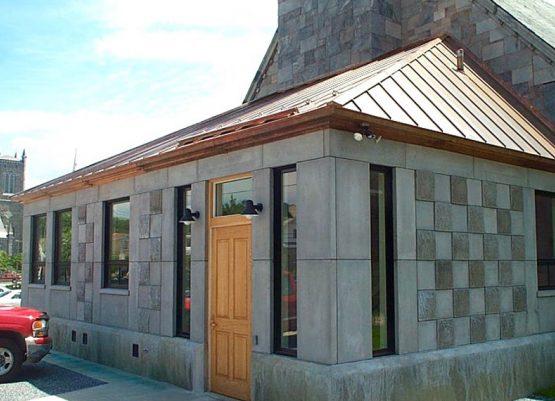 New Church Entrance Rutland