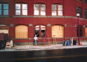 Bank Exterior Remodeling