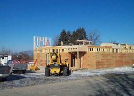 First floor construction